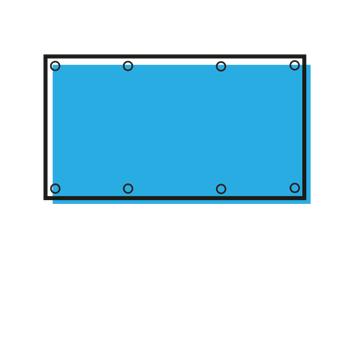 Banery - twardy solvent drukowane na ploterze lateksowym. Oferujemy przygotowanie projektu. Drukarnia internetowa RGBdruk.